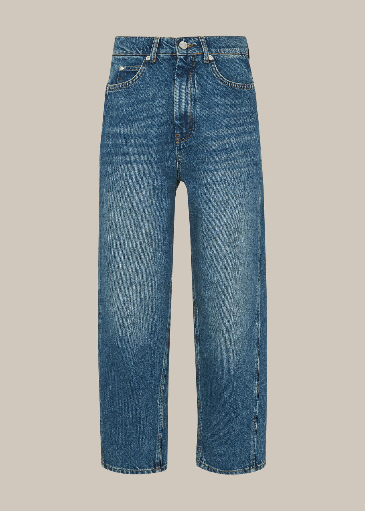 Authentic Washed Barrel Jean