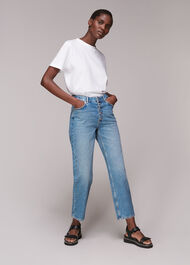 Authentic Hollie Button Jean