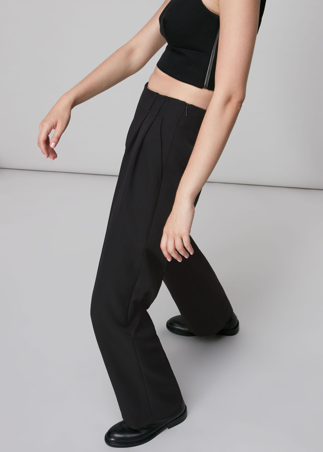 Twill Tailored Tapered Trouser