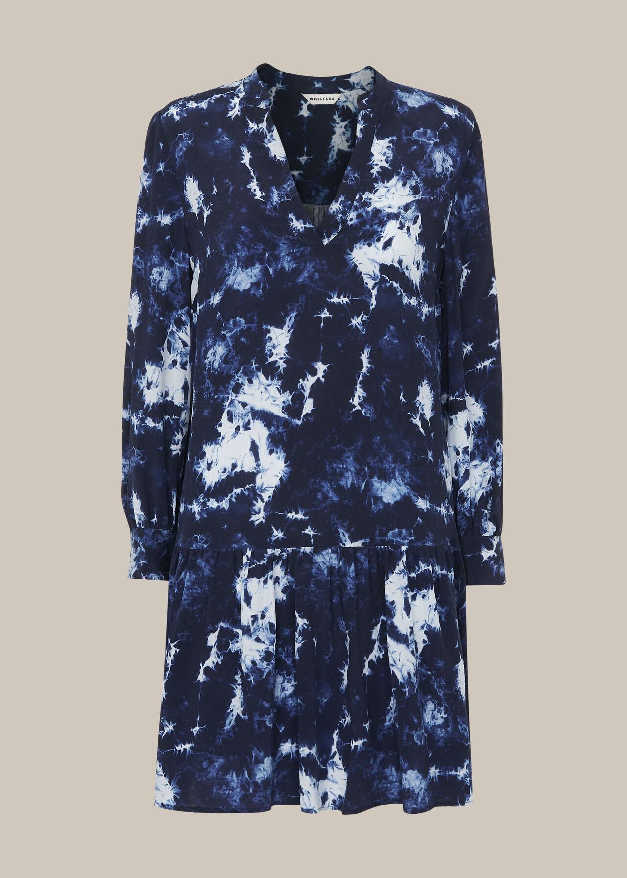 Tie Dye Smock Dress