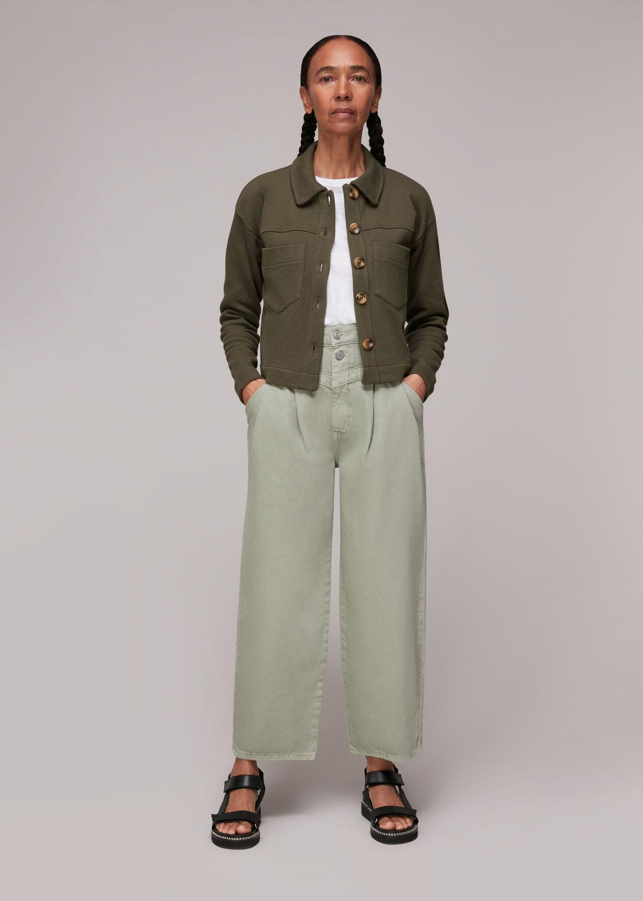 Utility Jersey Jacket
