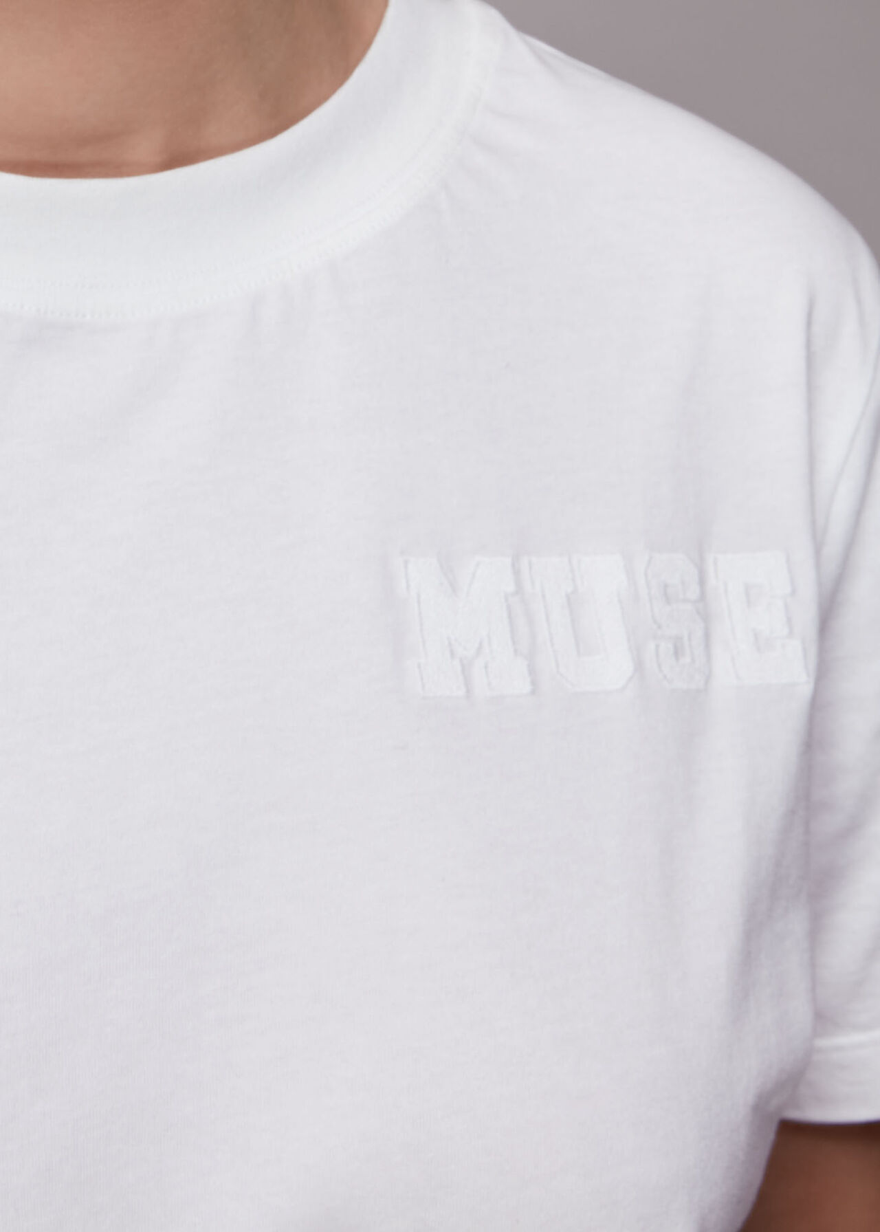 Muse Embroidered T Shirt