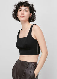 Twill Tailored Bralette
