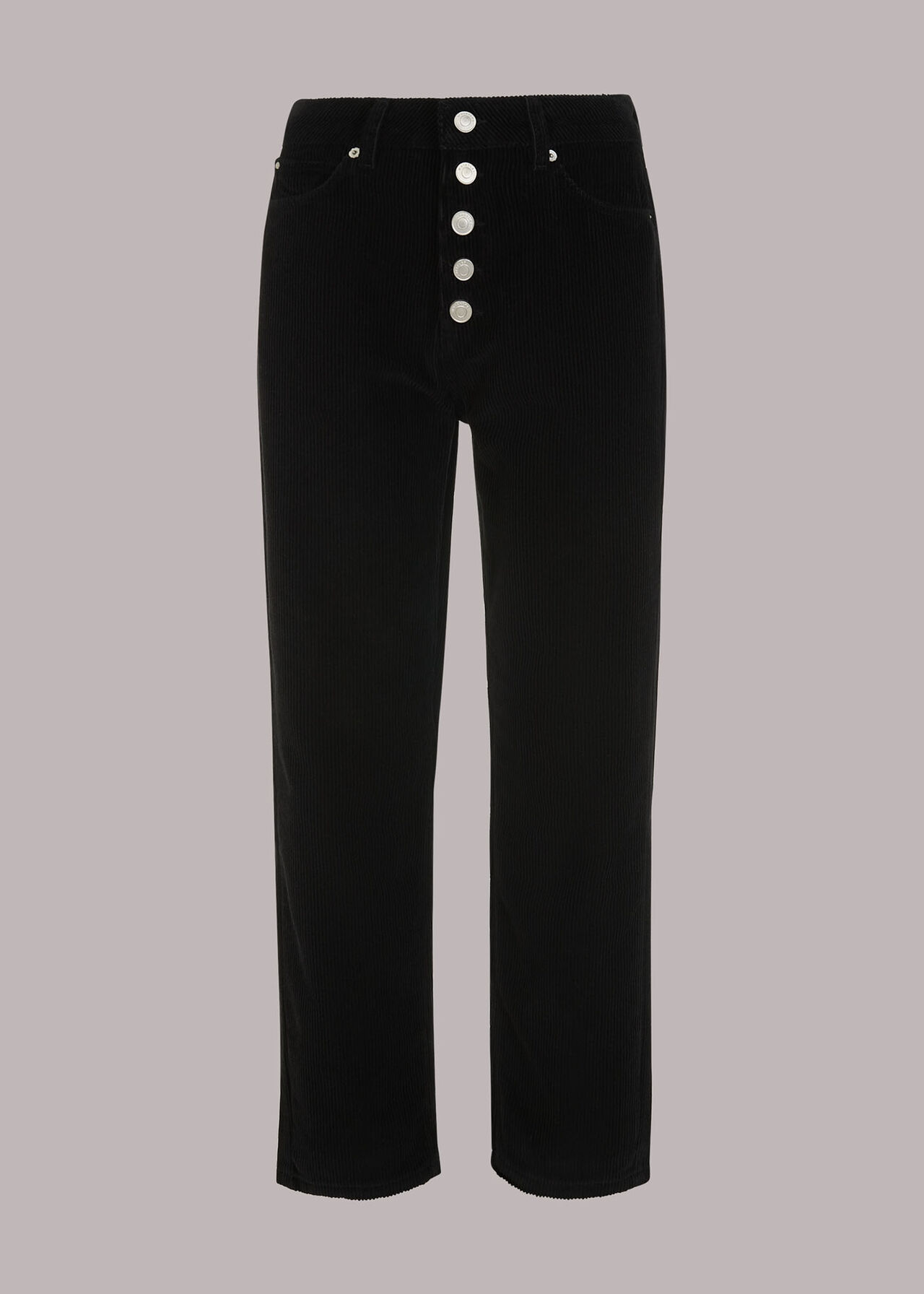 Hollie Button Front Cord Jean