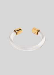 Clear Resin Bangle Clear