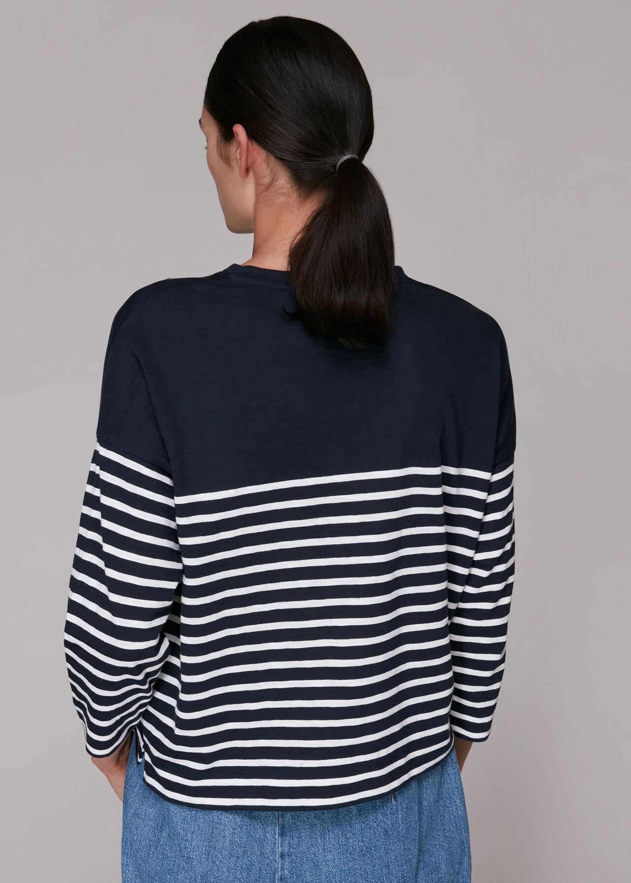 Breton Cotton Pocket Top
