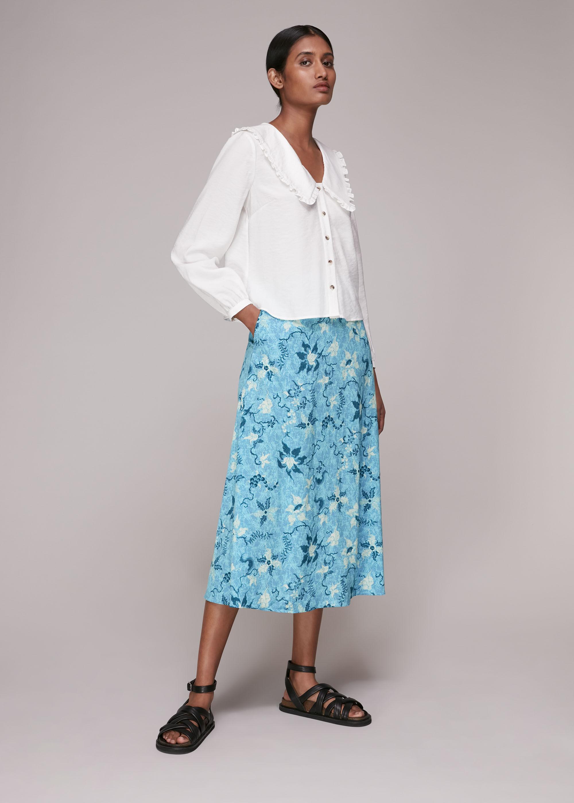 Whistles Women Batik Garland Print Skirt