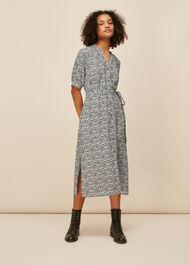 Olivia Mixed Animal Dress