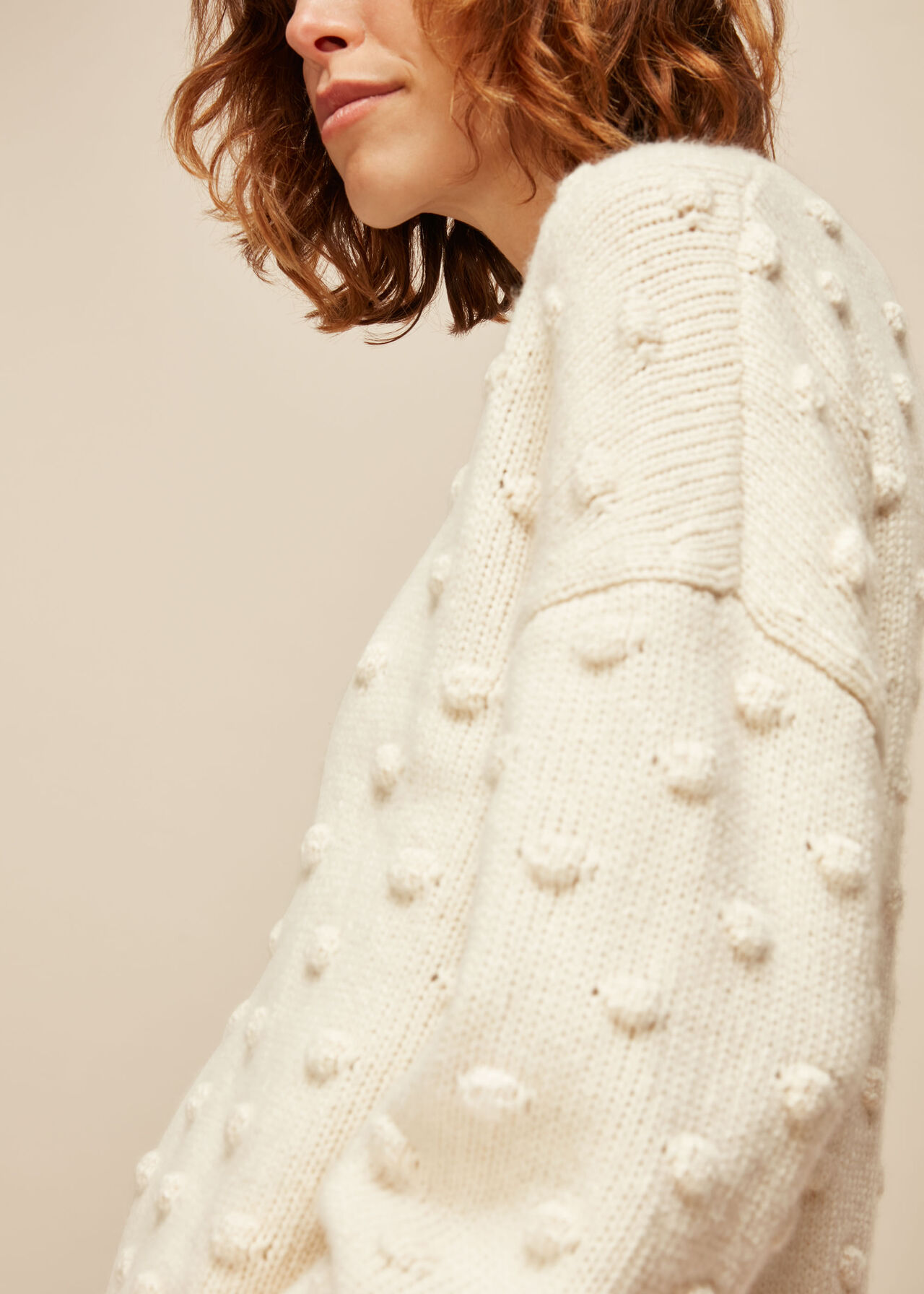 Bobble Knitted Jumper