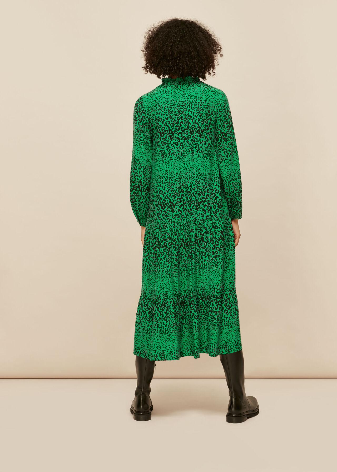 Speckled Animal Enora Dress