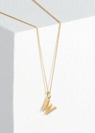 Rachel Jackson Letter Necklace Gold