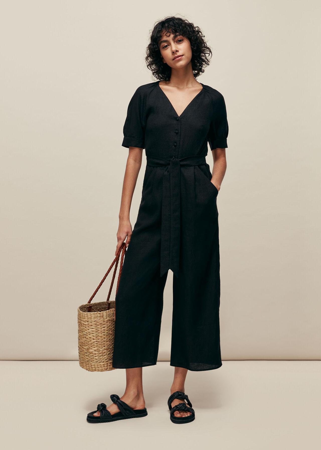 Nora Linen Jumpsuit