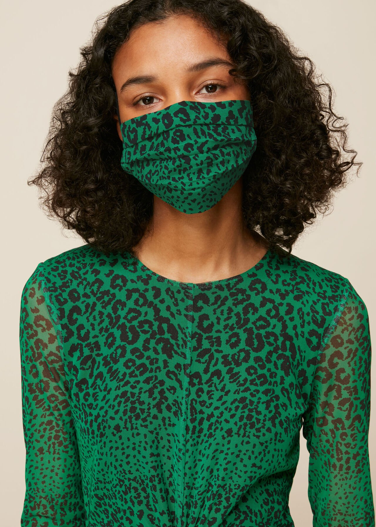 Speckled Animal Face Covering