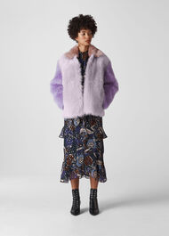 Colourblock Toscana Coat Multicolour