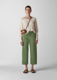 Cargo Pocket Trouser Khaki