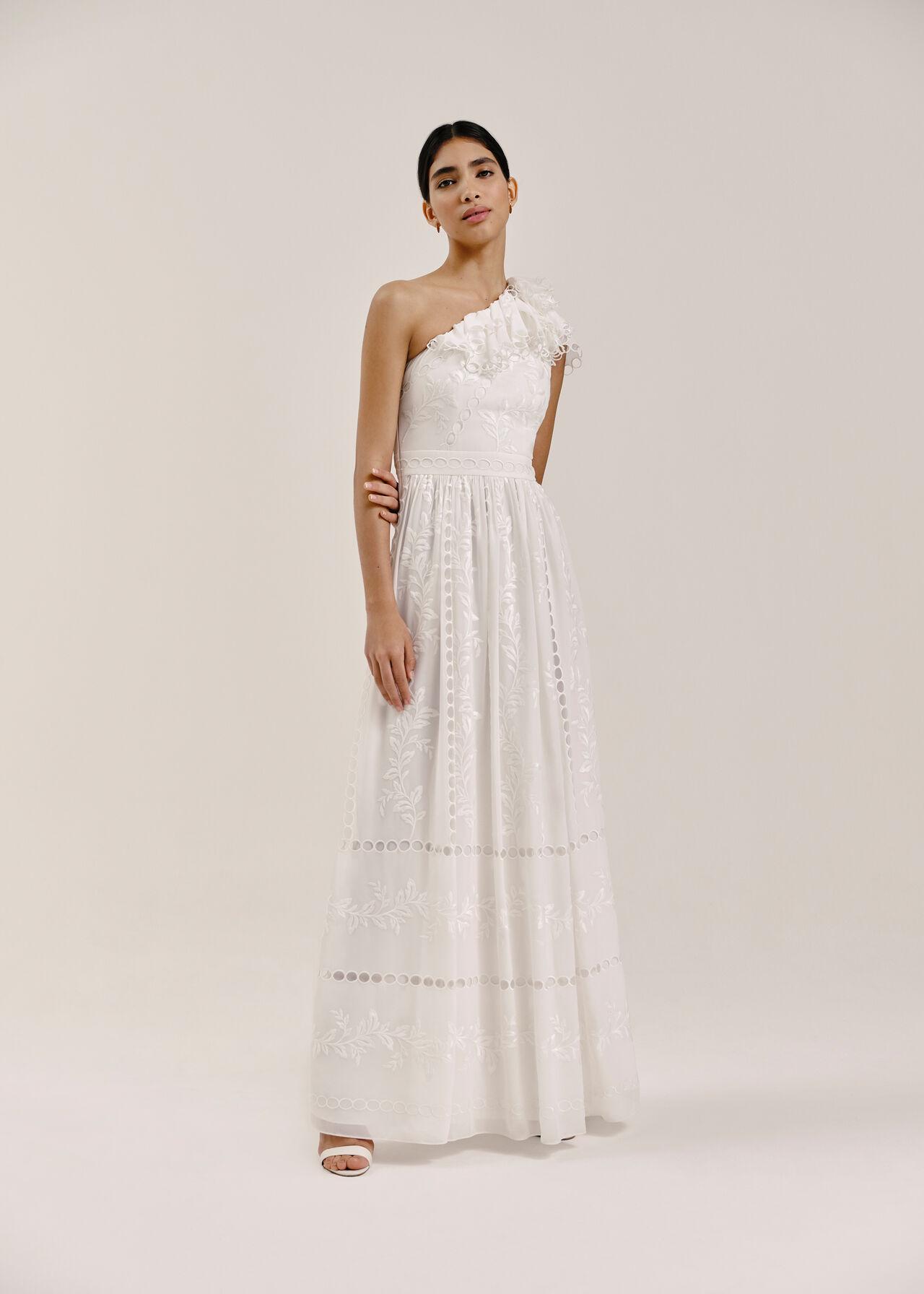 Adelaide Wedding Dress Ivory/Multi
