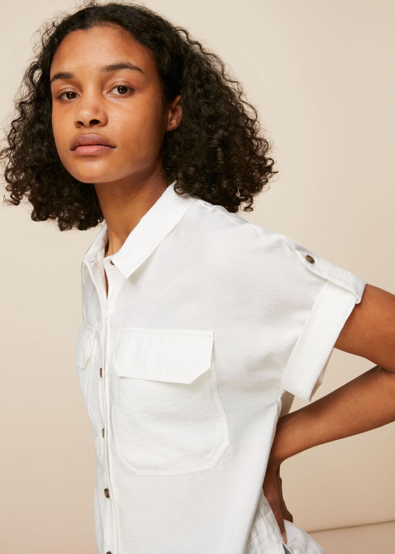 Elena Pocket Detail Shirt