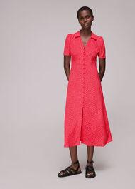Rowan Diagonal Print Dress
