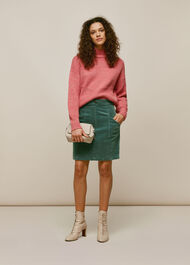 Billie Cord Skirt Sage Green