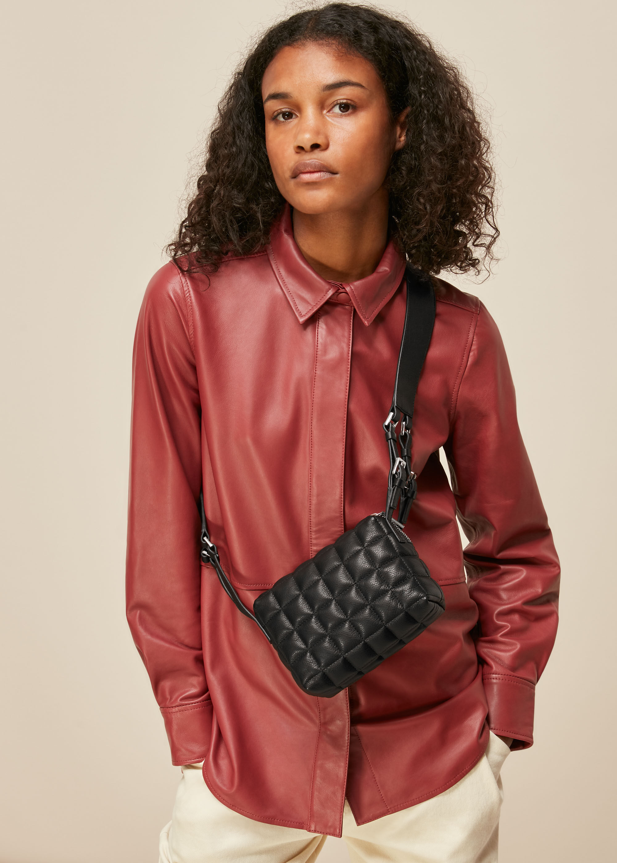 Whistles Women Elias Quilted Crossbody Bag