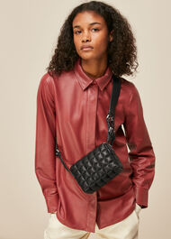 Elias Quilted Crossbody Bag