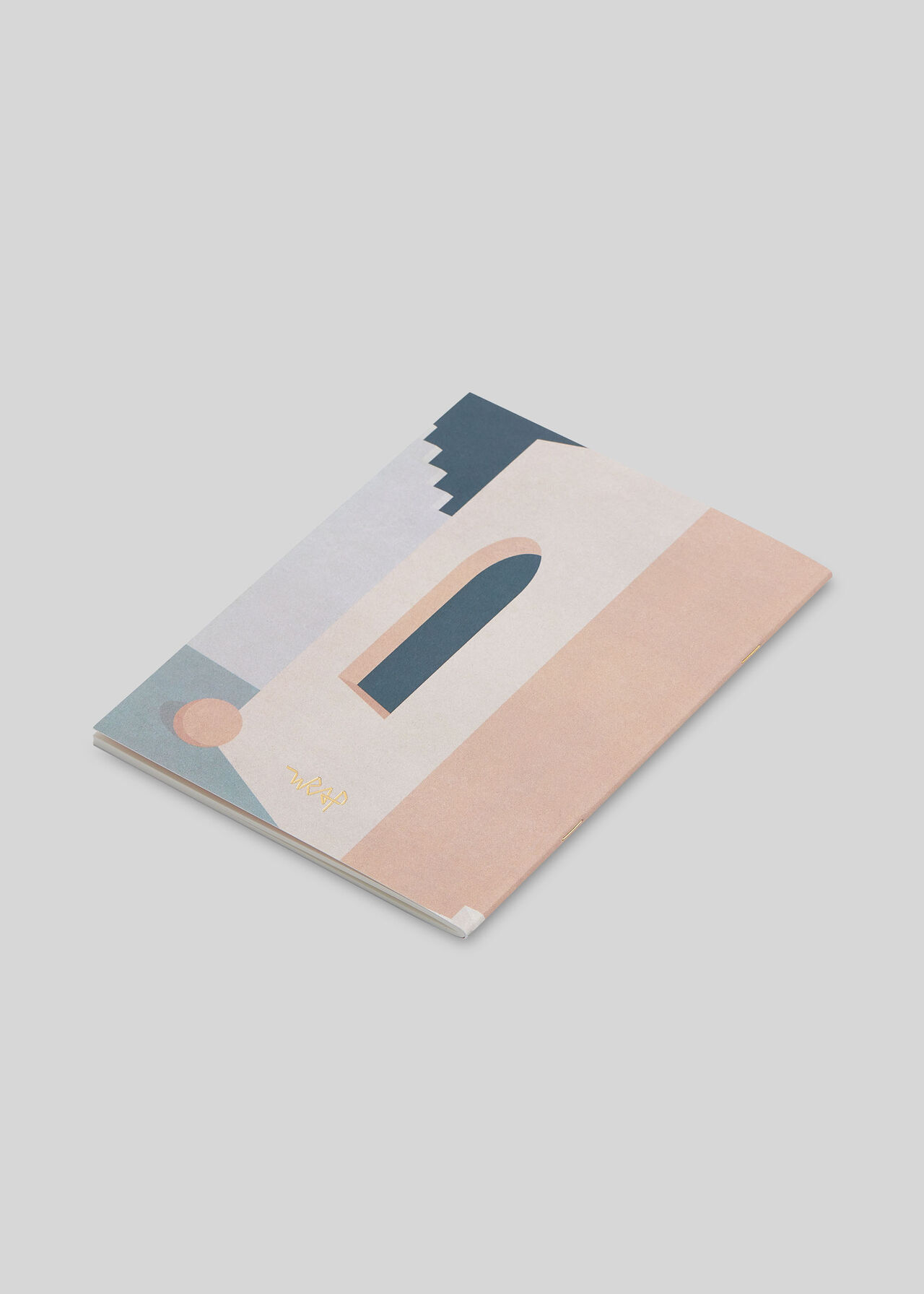 Wrap Pastel Doorway Notebook Multicolour