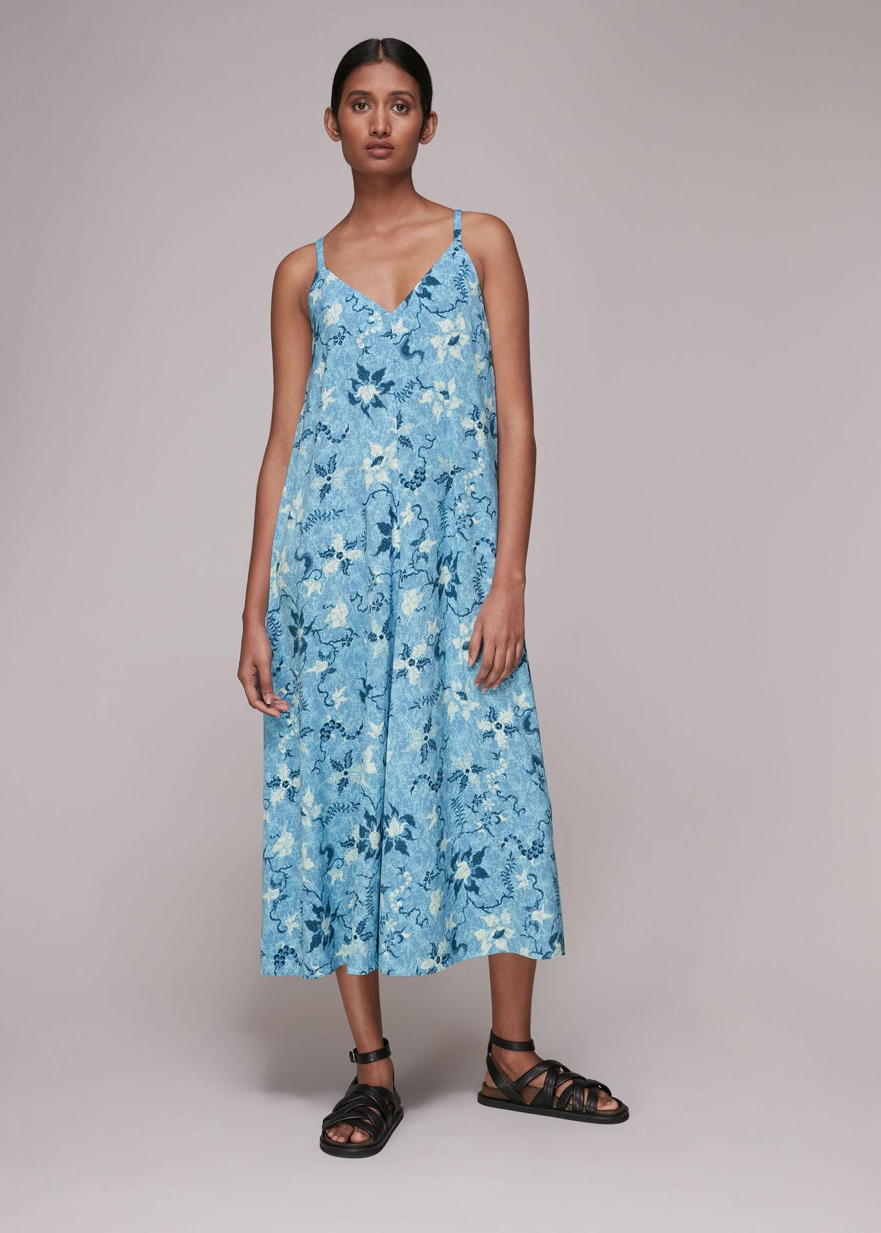 Cecilia Batik Garland Dress