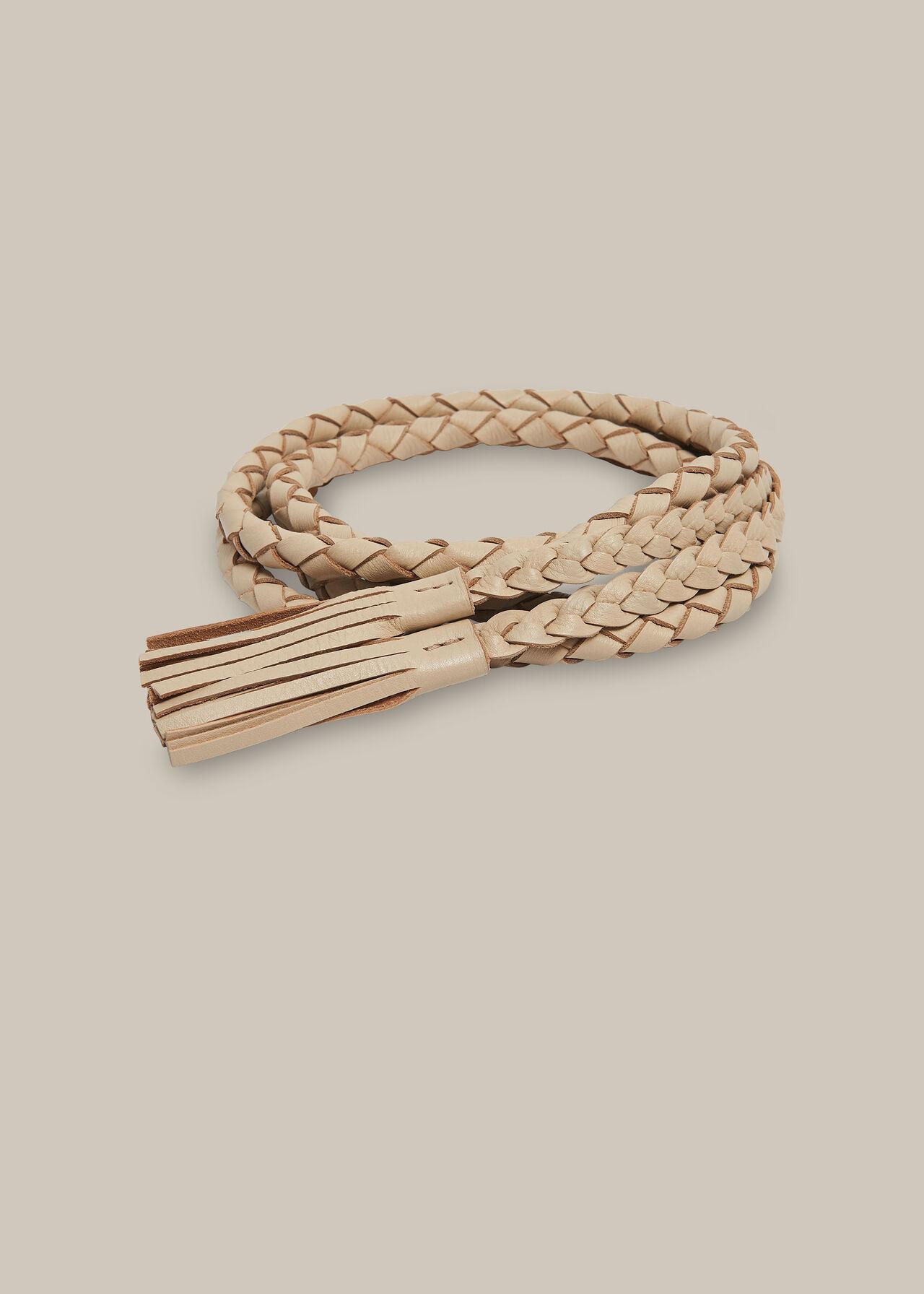 Braided Wrap Belt