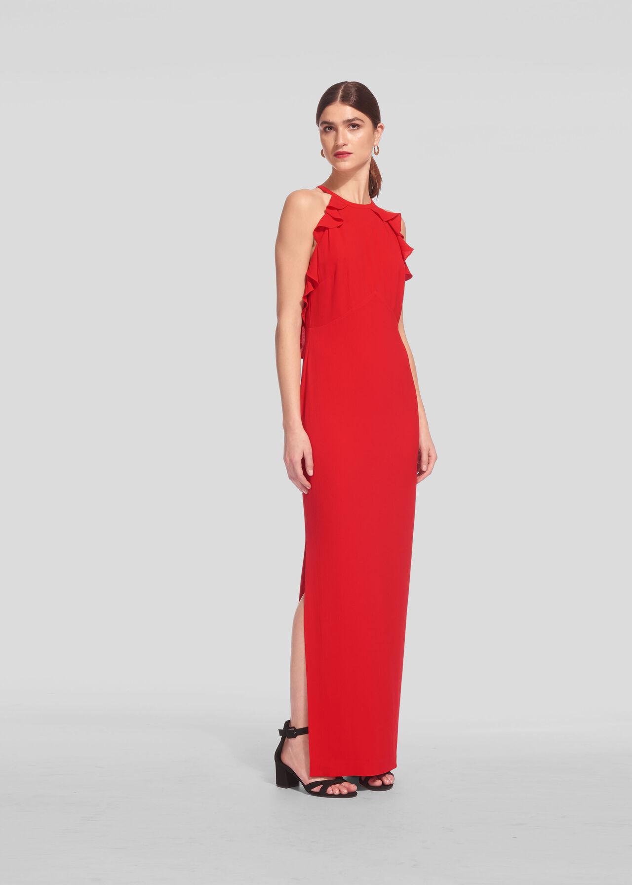 Sonia Frill Maxi Dress