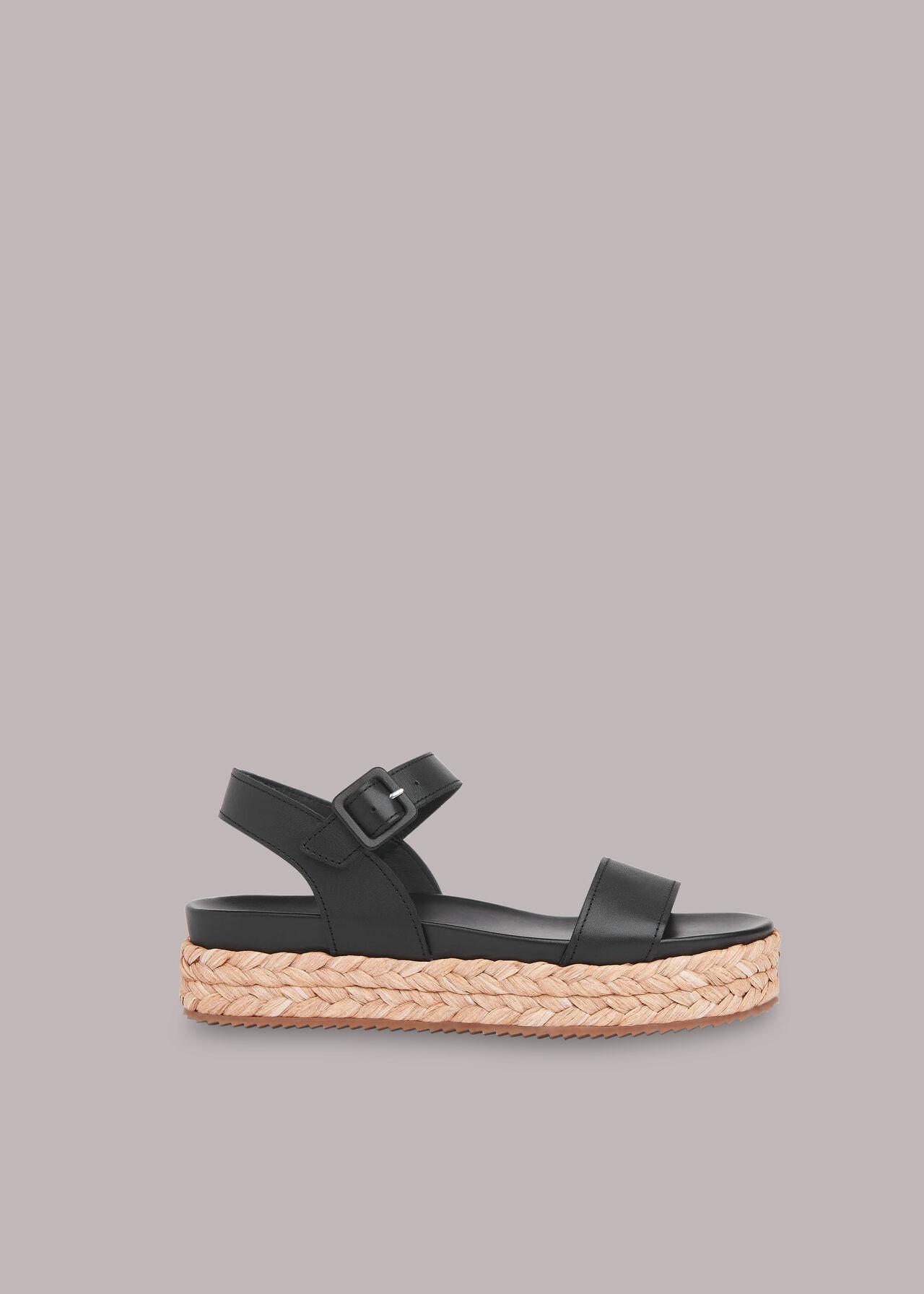 Ivie Raffia Flatform Sandal