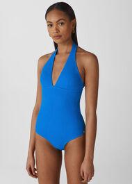 Klara Minimal Swimsuit Blue