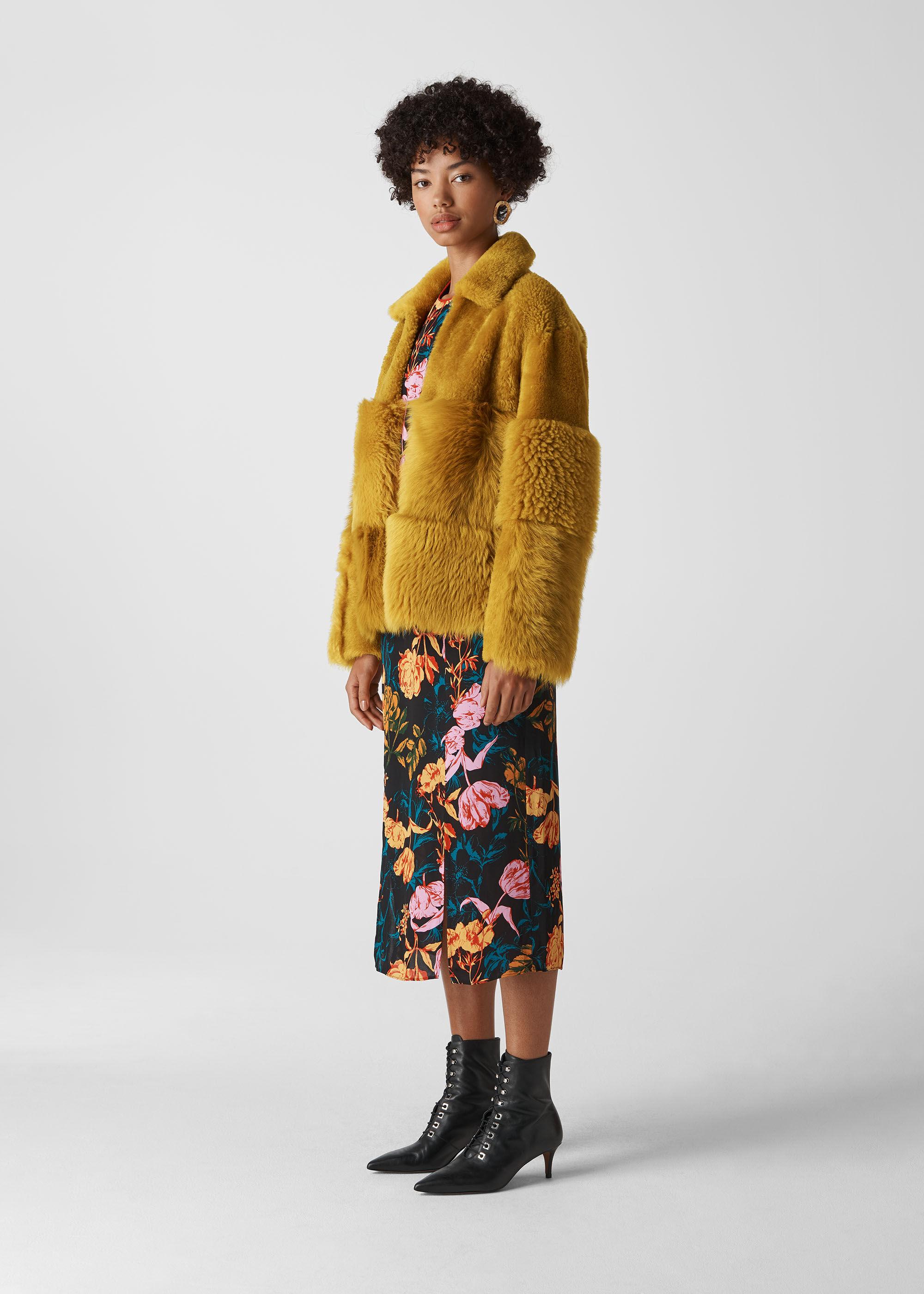 Whistles Women Hema Shearling Coat