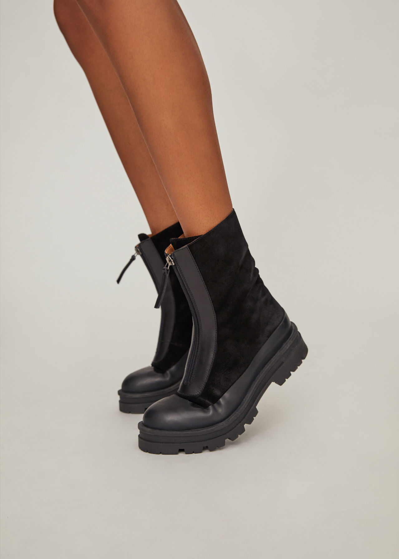 Barkley Zip Front Boot