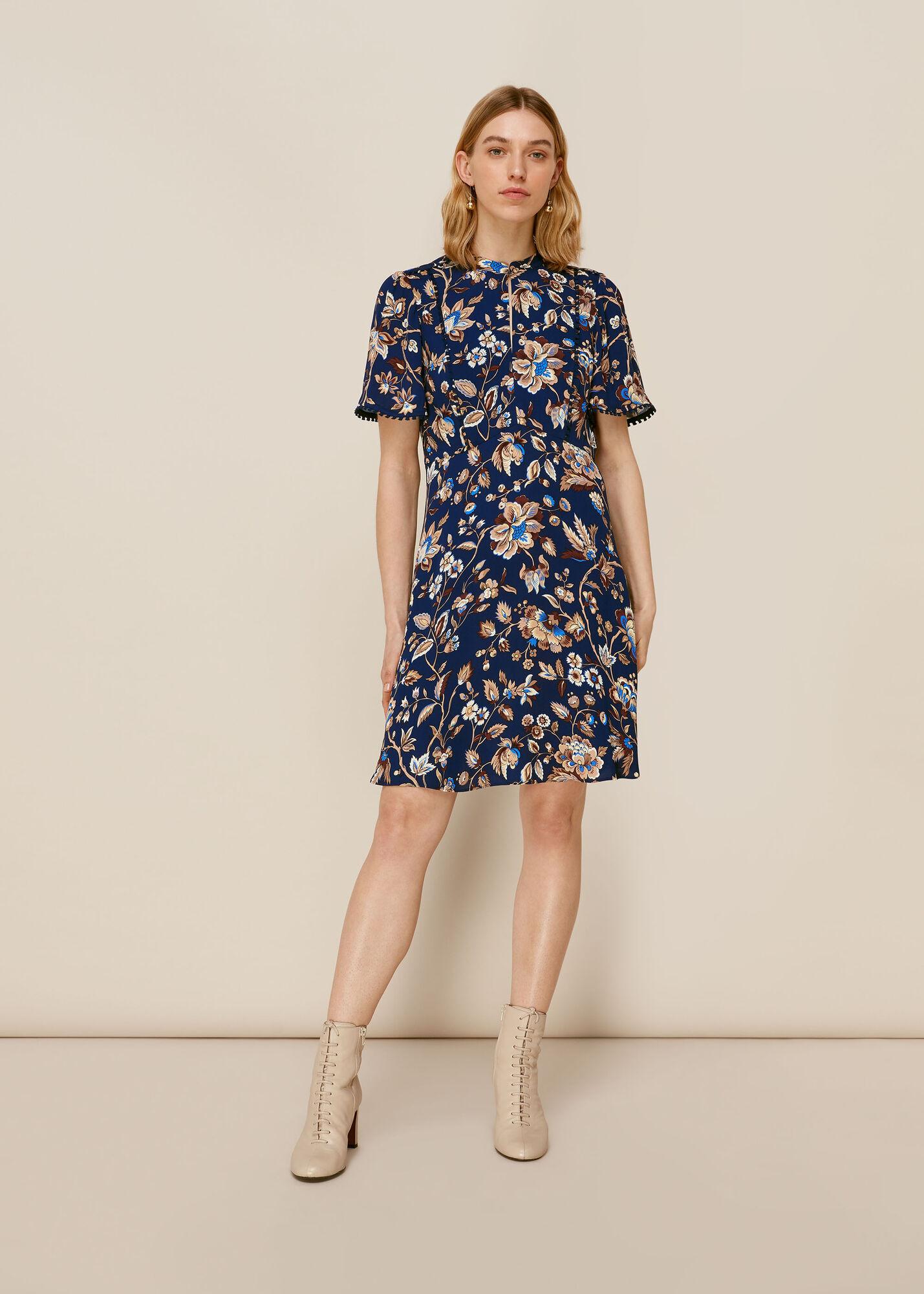 Prairie Blossom Print Dress