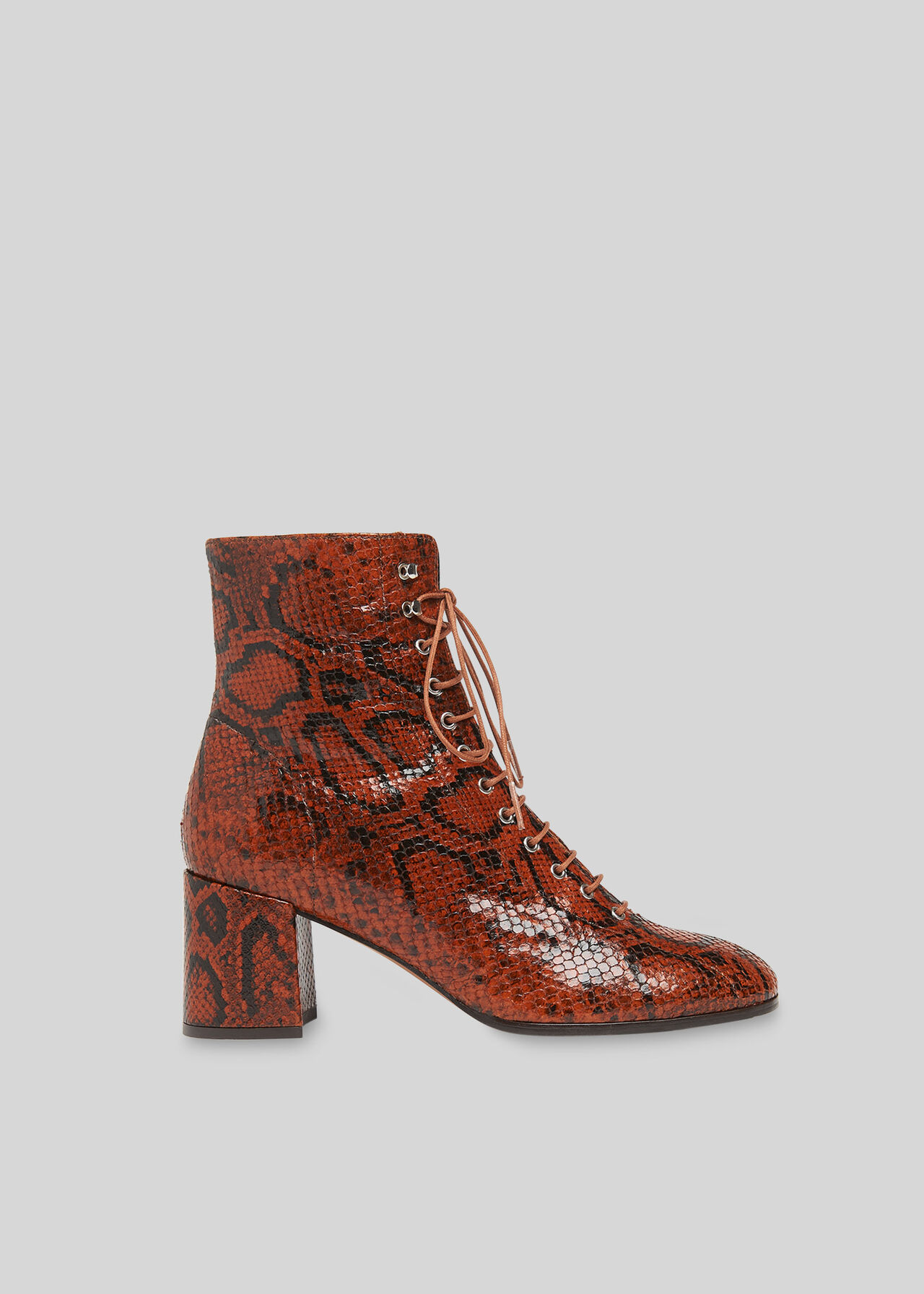 Alban Lace Up Boot Brown