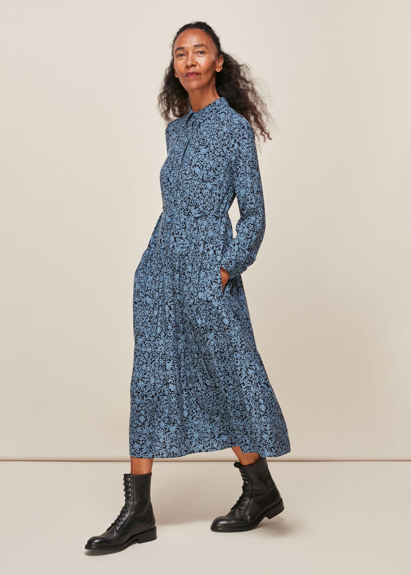 Eucalyptus Print Dress