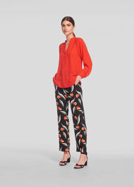Tulip Print Trouser Multicolour