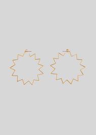 Starburst Earring Gold/Multi