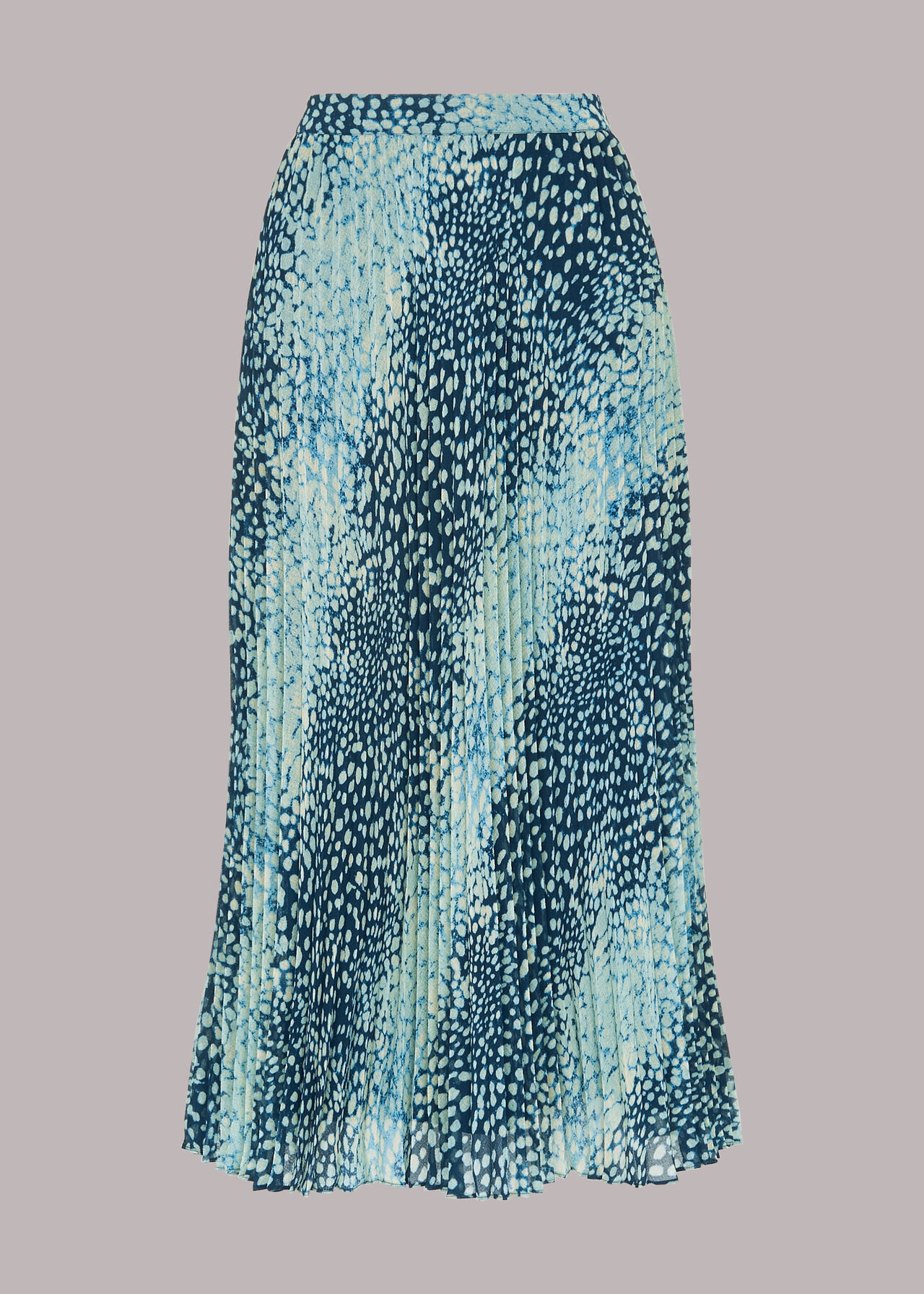 Dalmation Pleated Skirt