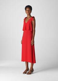 Romina Dress Red
