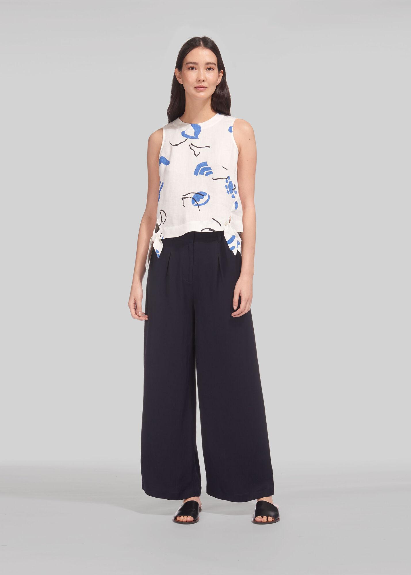 Wide Leg Pocket Trouser