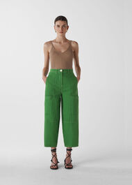 Utility Casual Trouser Green