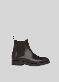 Arno Rubber Sole Chelsea Boot Burgundy