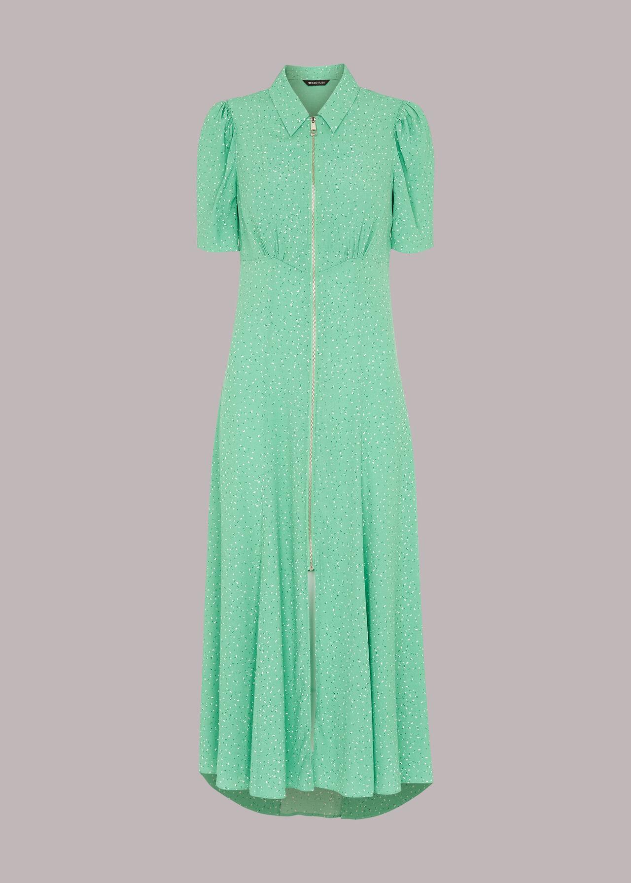 Scattered Bloom Midi Dress
