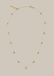 Pip Pearl Necklace Gold/Multi