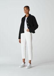 Utility Cord Jacket Black