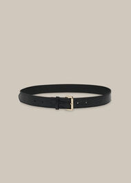 Shiny Croc Belt Black