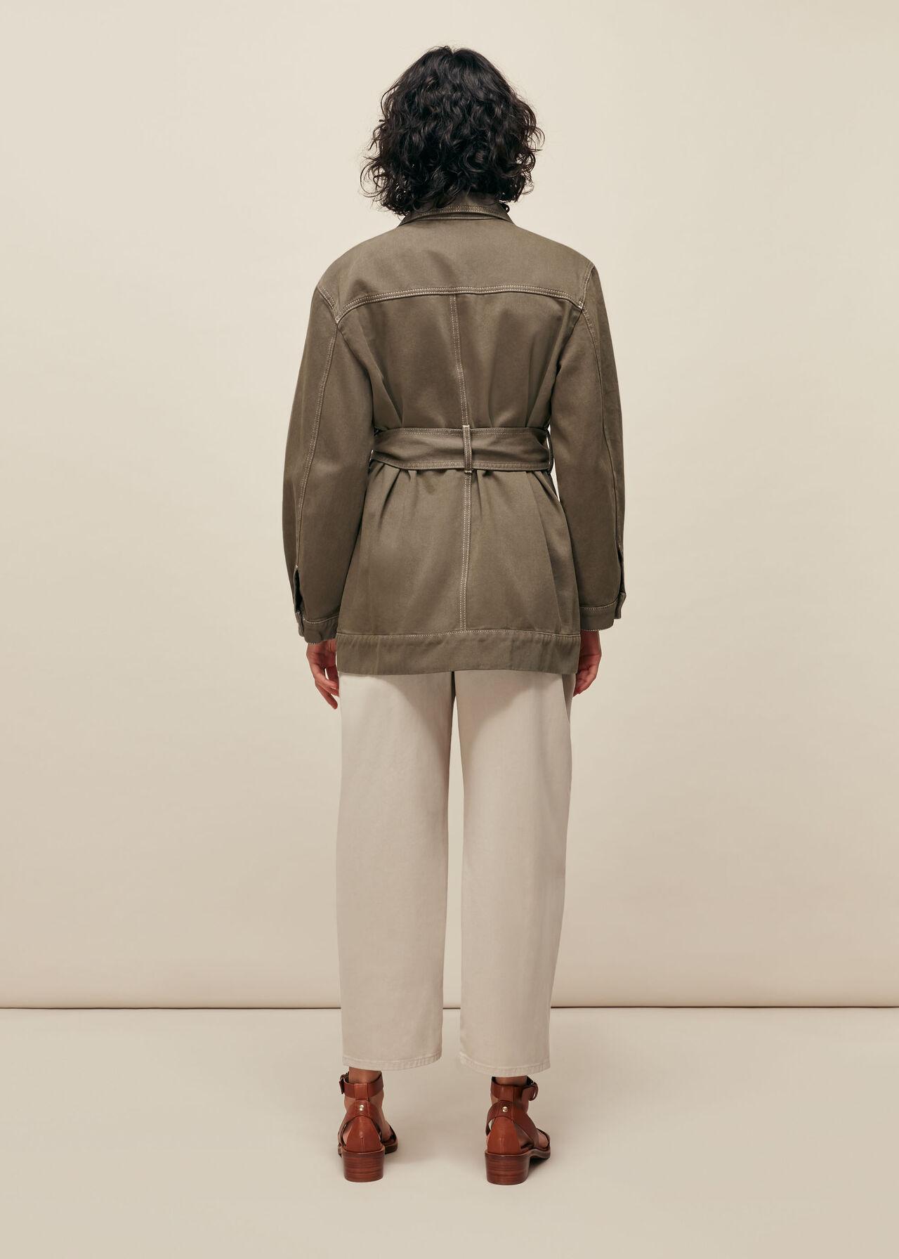 Belted Safari Jacket