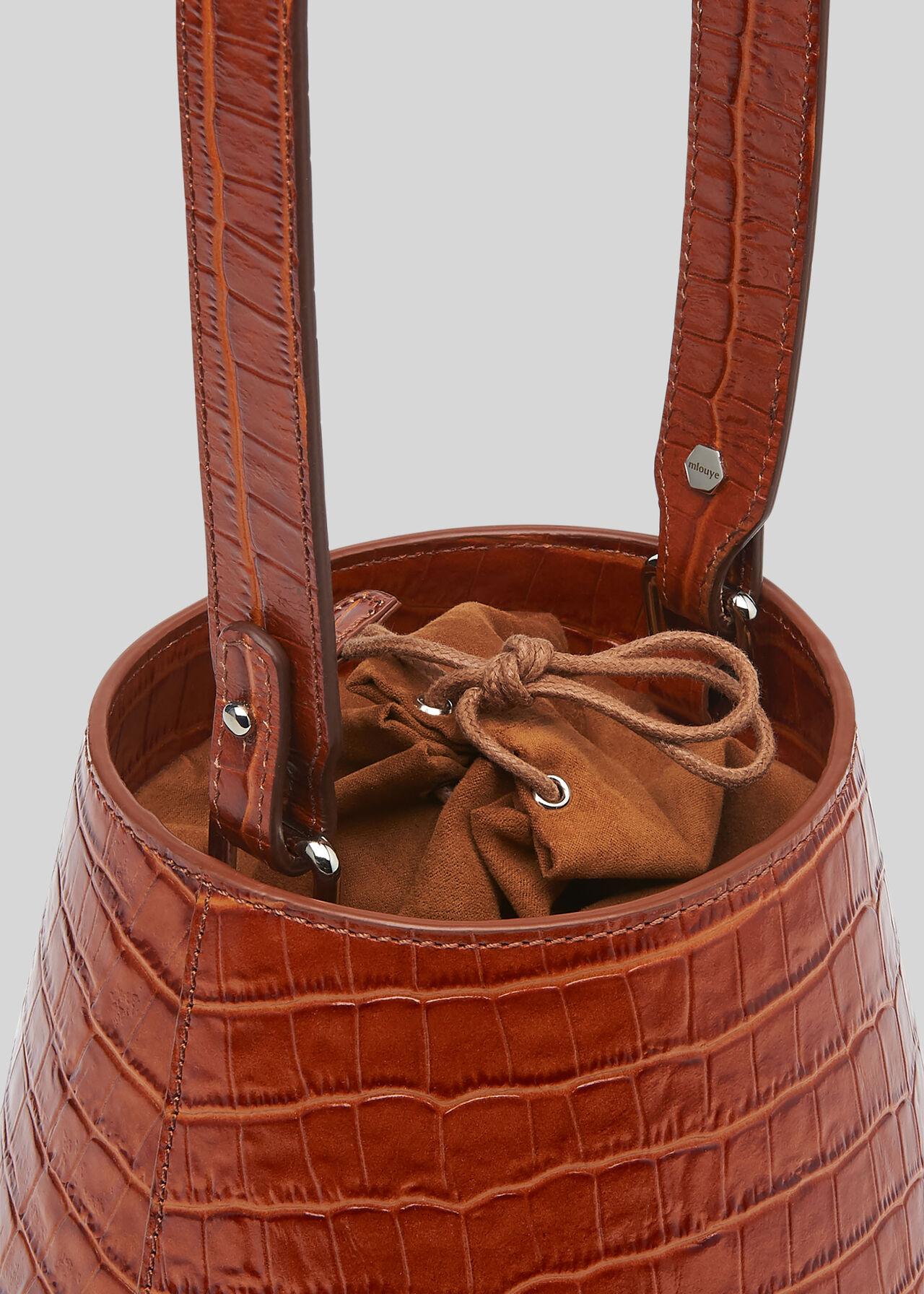 Whistles x Mlouye Lantern Bag Tan