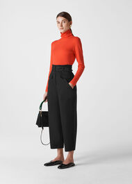 Milla Cargo Trouser Black